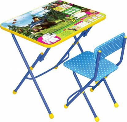 Комплект стол+стул Ника Умничка 1 Ловись рыбка Маша и Медведь цена