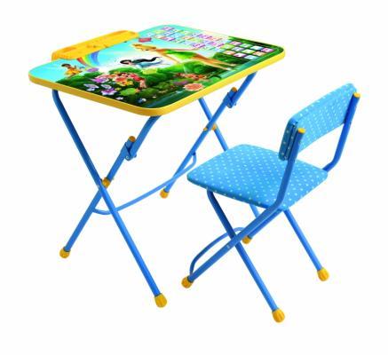 Комплект стол+стул Ника Disney 3 Феи. Азбука стол складной ника водостойкий пластик 100x50 cм