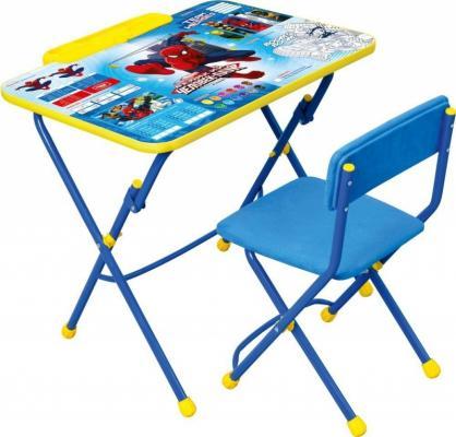 Купить Комплект стол+стул Ника Disney 3 Человек-паук, НИКА, Игровые комплекты мебели