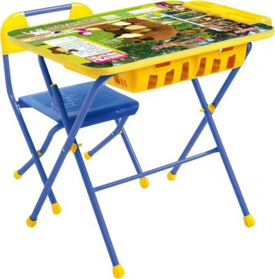 Стол-стул НИКА Позвони мне Маша и Медведь КH-0819КПУ2П/6 детский столик nika маша и медведь ку1 6 позвони мне