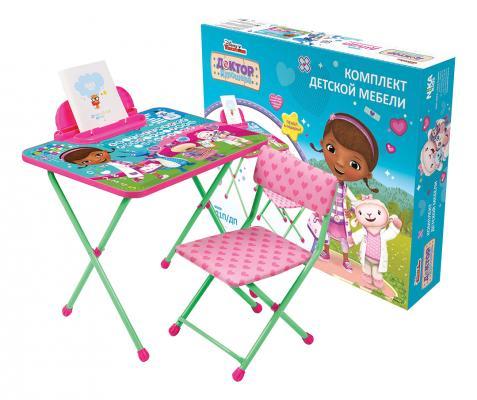 Комплект стол+стул Ника Disney 1 Доктор плюшева ника 1041 0 1 61 ника