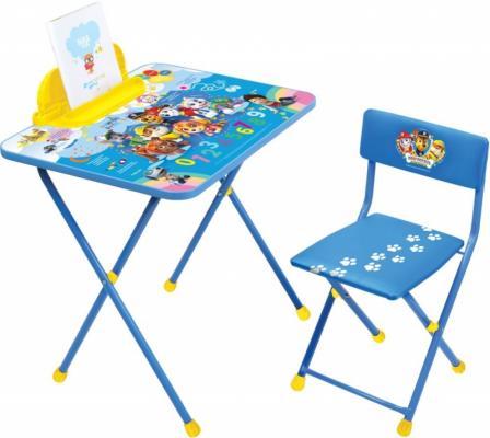цена Комплект стол+стул Ника Nickelodeon Щенячий патруль