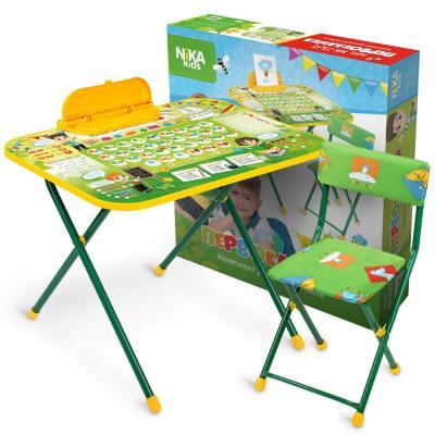 Комплект стол+стул Ника Первоклашка микроскоп velvi первоклашка 70 800x