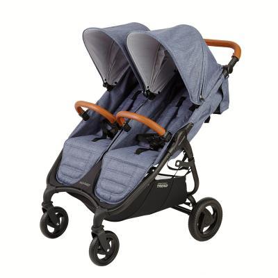 Прогулочная коляска для двоих детей Valco Baby Snap Duo Trend (denim)
