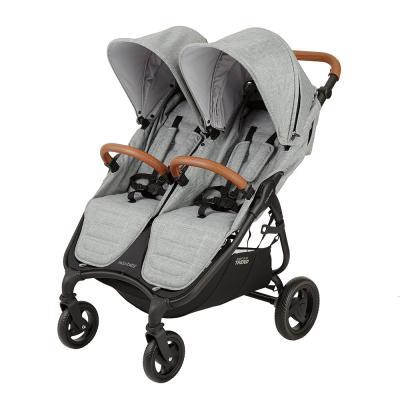 Прогулочная коляска для двоих детей Valco Baby Snap Duo Trend (grey marle) коляска для двойни valco baby snap duo cool grey