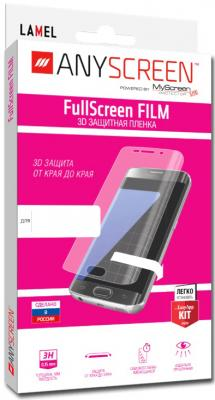 Защитная плёнка 3D Lamel FullScreen FILM для iPhone 5 water condensate 3d arc soft screen film for oneplus 5