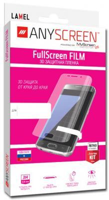 Пленка защитная Lamel 3D FullScreen FILM для Samsung Galaxy A7 (2016), ANYSCREEN anyscreen защитная пленка anyscreen 11 универсальная