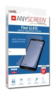 Пленка защитная lamel гибкое стекло Flexi GLASS для Samsung Galaxy A5 (2016), A510F, ANYSCREEN помады lamel lamel professional помада для губ rich color увлажняющая 32 розовое дерево