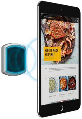 Подставка для телефона Deppa Магнитный держатель Mage Flat XL для смартфонов и планшетов, 8 магнитов, 3М крепление, черный, Deppa держатель deppa mage one магнитный черный для смартфонов 55151