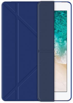 Чехол Deppa подставка Wallet Onzo для Apple iPad 9.7 (2017), синий, Deppa цена