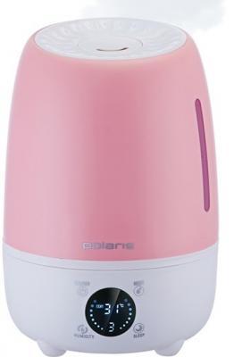 Увлажнитель воздуха Polaris PUH 6805DI розовый ультразвуковой увлажнитель воздуха polaris puh 6805di синий