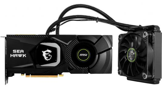 Видеокарта MSI nVidia GeForce RTX 2080 SEA HAWK X PCI-E 8192Mb GDDR6 256 Bit Retail (RTX 2080 SEA HAWK X)