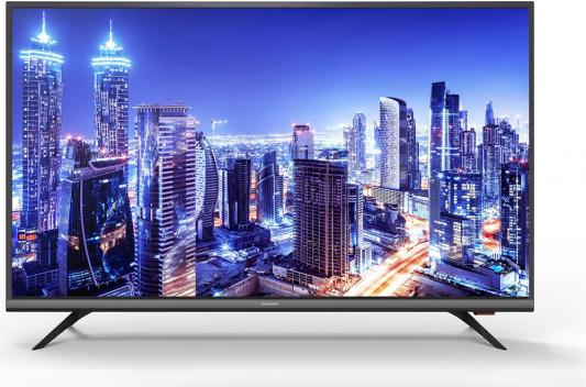 Телевизор LED 43 DAEWOO U 43V890 VTE черный 3840x2160 60 Гц Wi-Fi Smart TV USB HDMI RJ-45