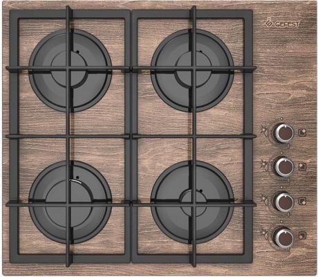 Варочная панель газовая Gefest СВН 2230 К47 коричневый