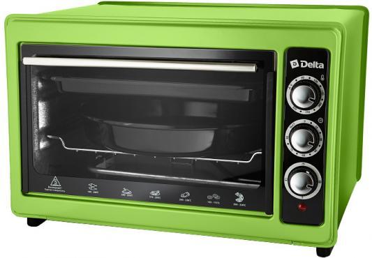 Мини-печь DELTA D-023 зеленая (рестайлинг) цена и фото