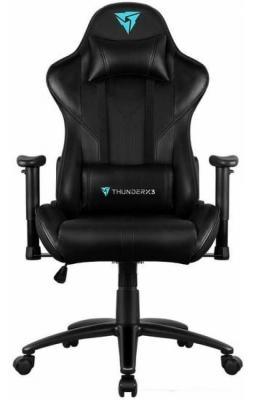 Кресло компьютерное игровое ThunderX3 RC3 -B черный с подсветкой 7 цветов компьютерное кресло thunderx3 tgc22 bo