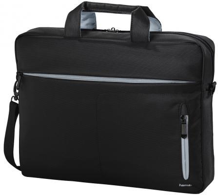 Сумка для ноутбука 17.3 HAMA Marseille полиэстер черный серый 00101784