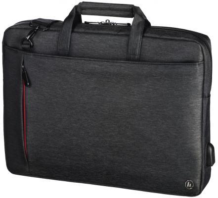 Сумка для ноутбука 15.6 HAMA Manchester полиэстер черный 00101870
