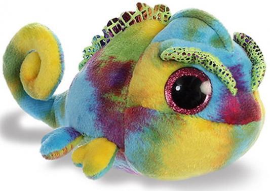 все цены на Мягкая игрушка хамелеон Aurora Юху и друзья плюш синтепон 12 см онлайн