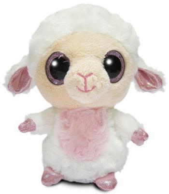 Мягкая игрушка овечка Aurora Юху и друзья текстиль пластик 12 см цены