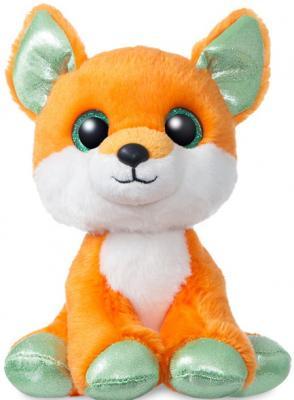 Купить Мягкая игрушка лисица Aurora пластик текстиль плюш 18 см, рыжий, плюш, пластик, текстиль, Животные