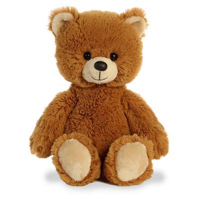 Мягкая игрушка медведь Aurora Медвежонок искусственный мех пластик наполнитель 30 см aurora медведь коричневый сидячий 61589