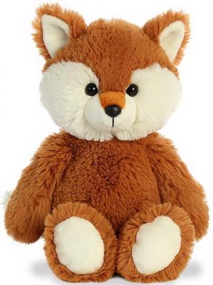 Мягкая игрушка лисица Aurora Cuddly Friends текстиль пластик рыжий белый 30 см aurora мягкая игрушка aurora cuddly friends лама 30 см
