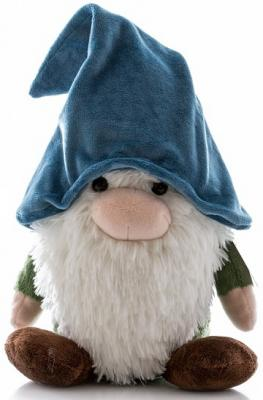 Купить Мягкая игрушка гном Aurora текстиль наполнитель красный 25 см, текстиль, наполнитель, Животные