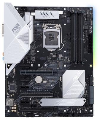 Материнская плата ASUS PRIME Z370-A II Socket 1151 v2 Z370 4xDDR4 3xPCI-E 16x 4xPCI-E 1x 6 ATX Retail (90MB0ZT0-M0EAY0) asus b150m a d3 1151 pin b150 motherboard ddr3