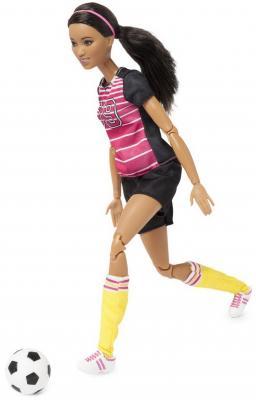 Фото - Кукла MATTEL Barbie футболистка 29 см кукла barbie и собака с новорожденными щенками 29 см fdd43
