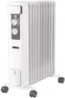 Масляный радиатор Zanussi ZOH/CS-11W 2200 Вт термостат белый серый zanussi zba22421sa белый
