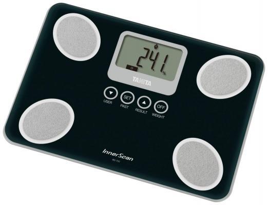 Весы напольные Tanita BC-731 чёрный алкотестер tanita hc 207