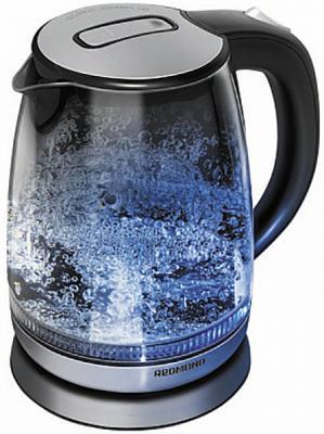 Чайник электрический Redmond RK-G127-E 2000 Вт чёрный 1.7 л стекло
