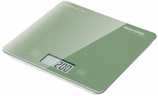 Весы кухонные Redmond RS-724-E зелёный недорого
