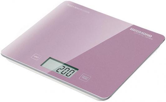 Весы кухонные Redmond RS-724-E розовый недорого