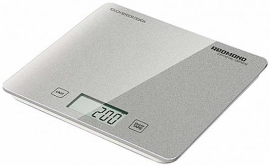 Весы кухонные Redmond RS-724-E серебристый цена
