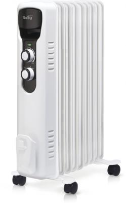 Масляный радиатор BALLU BOH/TR-09 2000 Вт термостат белый чёрный все цены