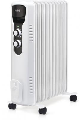 Масляный радиатор BALLU BOH/TR-11 2200 Вт термостат белый чёрный