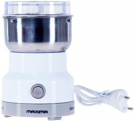 Кофемолка MAXIMA MCG-1602 150 Вт белый maxima katalog fasada