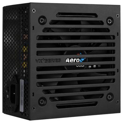 Блок питания Aerocool 800W Retail VX PLUS 800 RGB , ATX v2.3, RGB подсветка, A.PFC, fan 12cm, 4x PCI-E [6+2-Pin], 6x SATA, 4x MOLEX, 1x FDD блок питания aerocool vx 700 rgb 700w