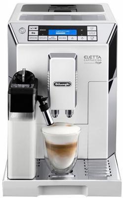Кофемашина Delonghi Dinamica ECAM45.764.W 1450Вт белый pandora dx 50