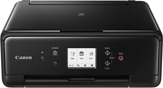цена на МФУ струйный Canon Pixma TS6240 (2986C007) A4 Duplex WiFi BT USB черный