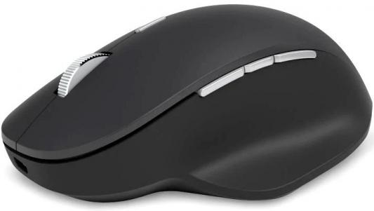 Мышь Microsoft Precision черный оптическая (1000dpi) беспроводная BT игровая (4but)
