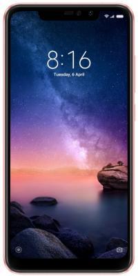 Смартфон Xiaomi Redmi Note 6 Pro 64 Гб розовое золото (M1806E7TG) смартфон xiaomi redmi 5 plus 64 гб черный