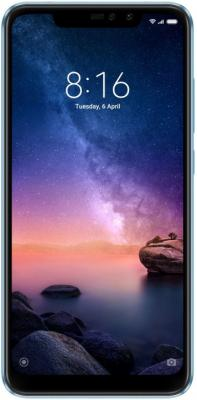 Смартфон Xiaomi Redmi Note 6 Pro 64 Гб голубой (X20338) смартфон xiaomi redmi 5 plus 64 гб черный