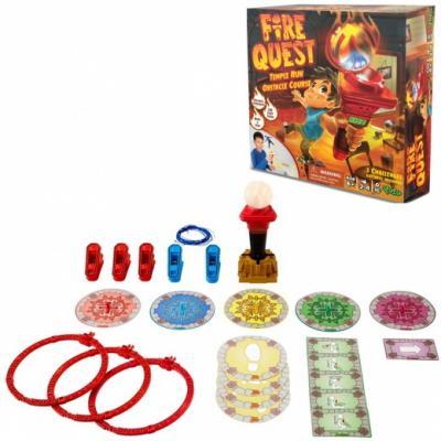 Настольная игра Yulu логическая Огневой квест книга игра поисковый квест пропажа в зоопарке