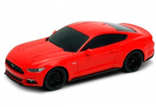 На р/управлении Welly Ford Mustang GT 1:24 красный