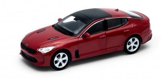 Автомобиль Welly KIA Stinger 1:50 красный автомобиль siku бугатти eb 16 4 1 55 красный 1305