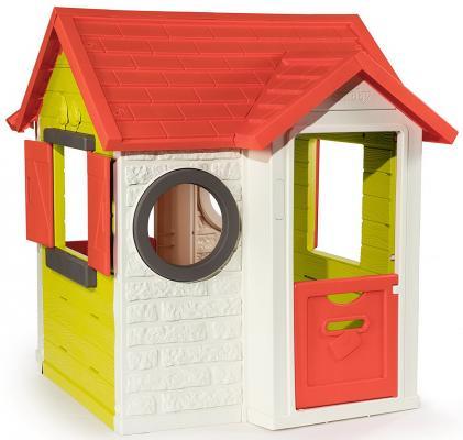 Игровой домик Smoby Домик со звонком 810704 smoby домик nature 98 110 127см 1 1