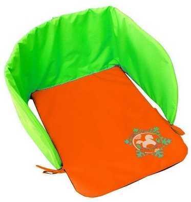 Матрац для санок RT Дьюспо оранжево-зеленый